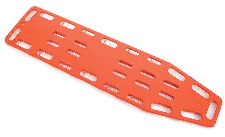 orange spinal board